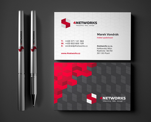4NETWORKS Identity Business card