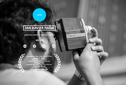 Janix Pacle One Page Website Design
