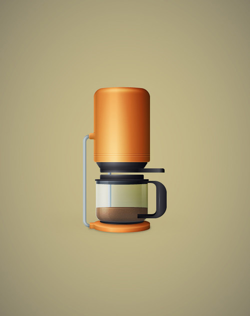 Create a Detailed Coffee Maker Illustration in Adobe Illustrator