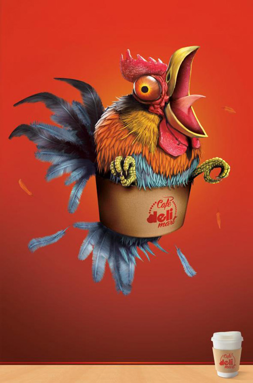 Deli Mart: Gallo Print Advertising