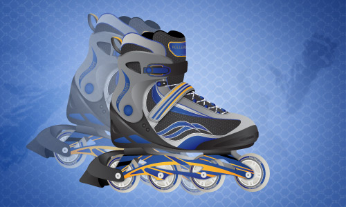 How to Draw a Pair of High-Detailed Roller Blades From Scratch in Adobe Illustrator