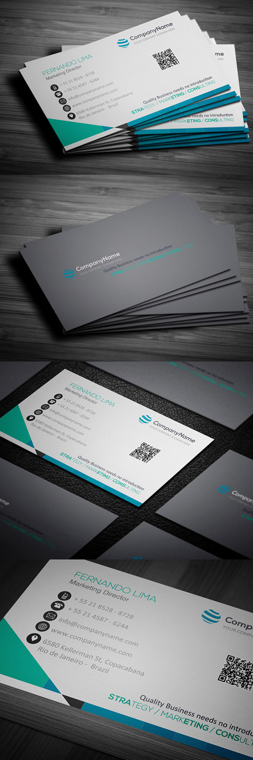 Multi-Purpose Corporate Business Card