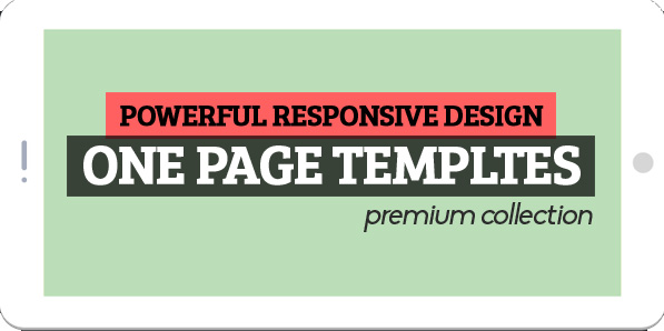 Responsive One Page Templates (Permium Collection)