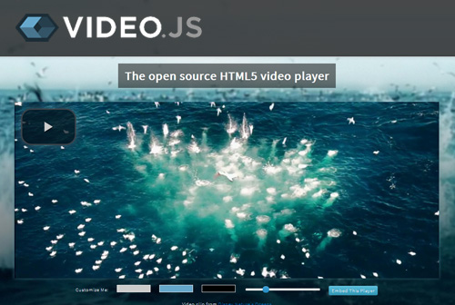 Video.JS - HTML5 Video Player