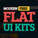 Post Thumbnail of 26 Modern Free Flat UI Kits