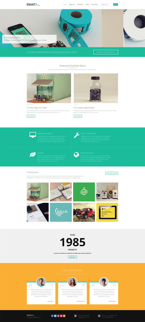 Envata - Responsive WordPress Theme