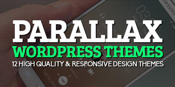 Parallax WordPress Themes : 12 High Quality & Responsive Design Themes