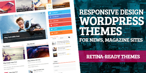 High Quality Retina-Ready and Responsive WordPress Themes