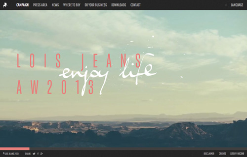 Lois Jeans – Autumn Winter 201