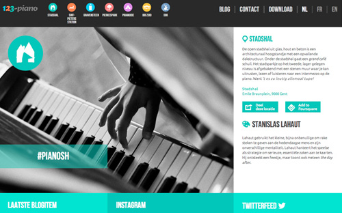 Responsive Website Design 123-piano