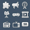 Post Thumbnail of 250 High Quality Vector Web UI Icons
