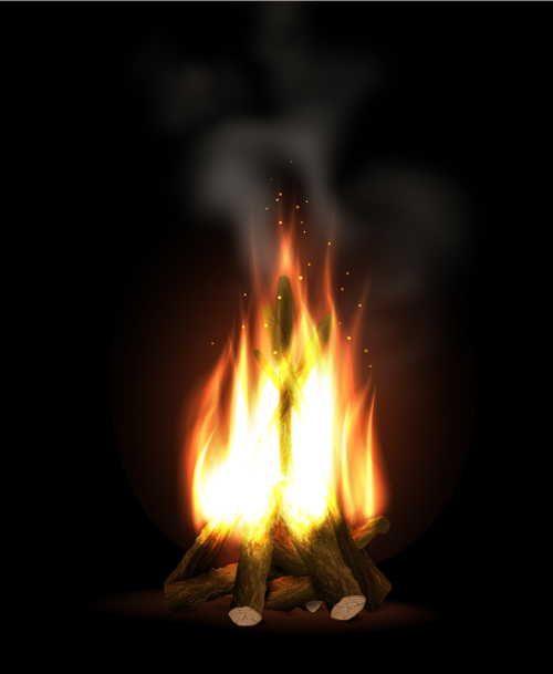 Create a Bonfire With Blends in Adobe Illustrator