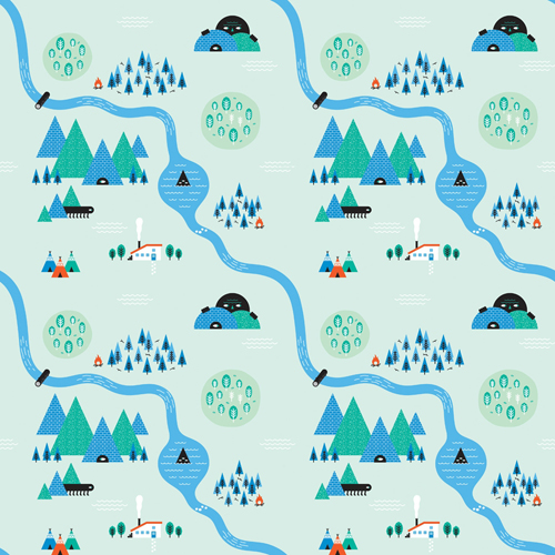 Create quirky repeating patterns in Adobe Illustrator