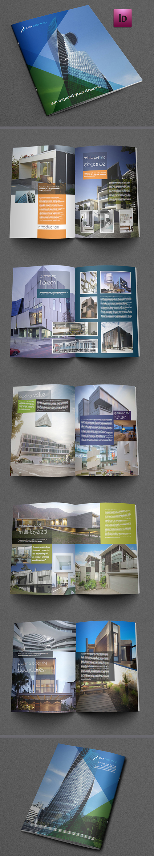 Architectural Brochure Template