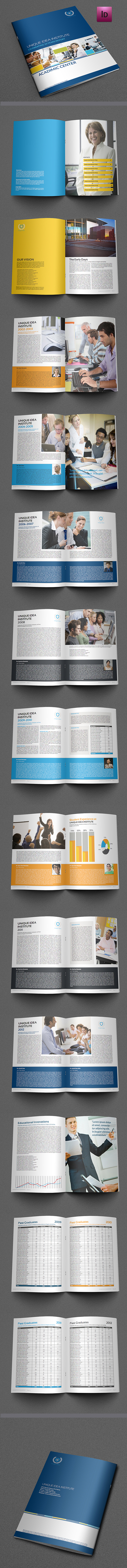 Training Company Brochure Template