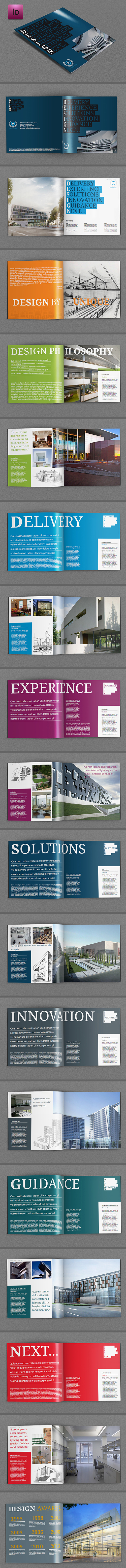 Design Company Brochure Template
