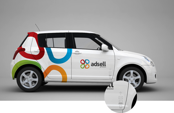 34 Beautiful Examples Of Vehicle Car Branding Design
