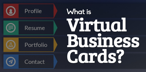 What is Virtual Business Cards? and Beautiful vCard Designs