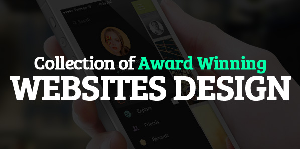 Award winning websites design web design graphic Award winning design