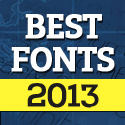 Post Thumbnail of 50 Free Fonts Best of 2013