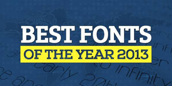 50 Free Fonts Best of 2013