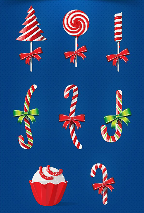 Christmas Candy PSD