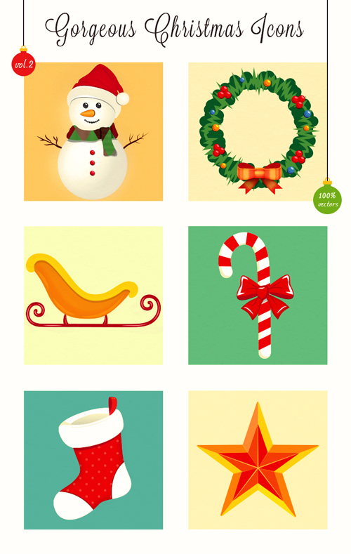 Gorgeous Christmas Icons