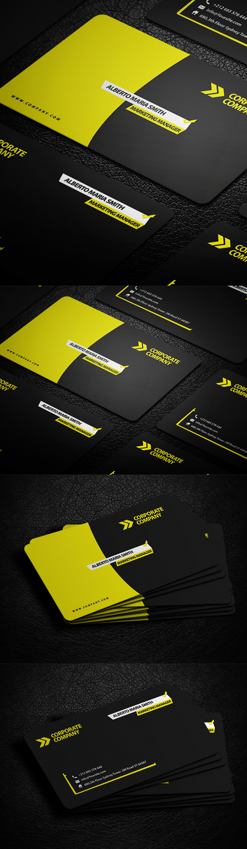 business cards template design - 11