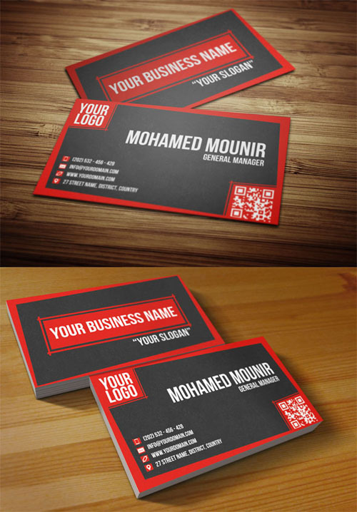 business cards template design - 22
