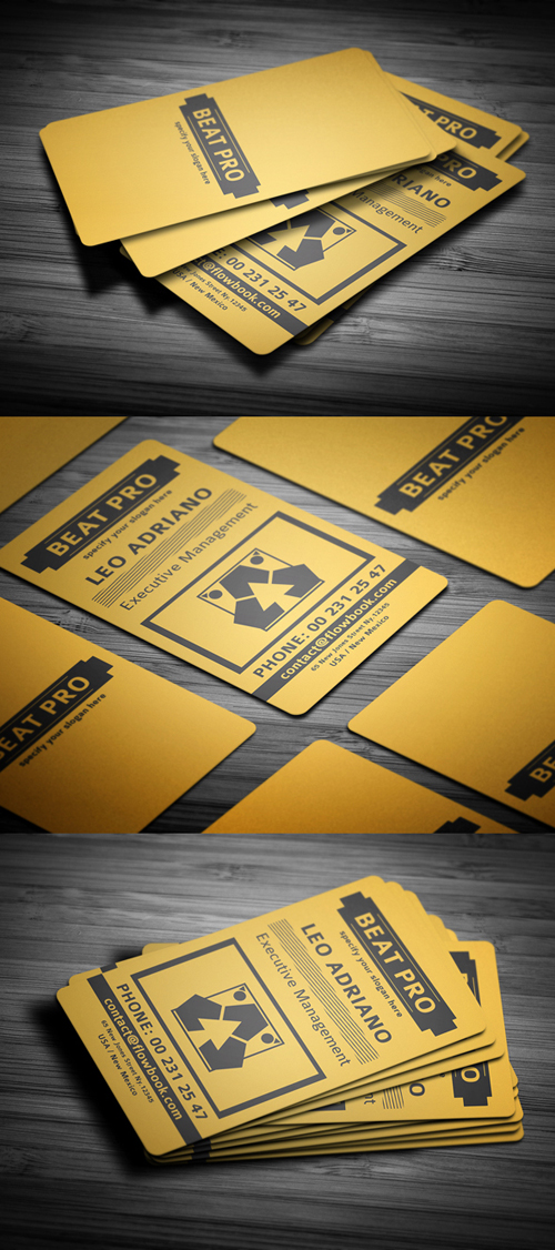 business cards template design - 25