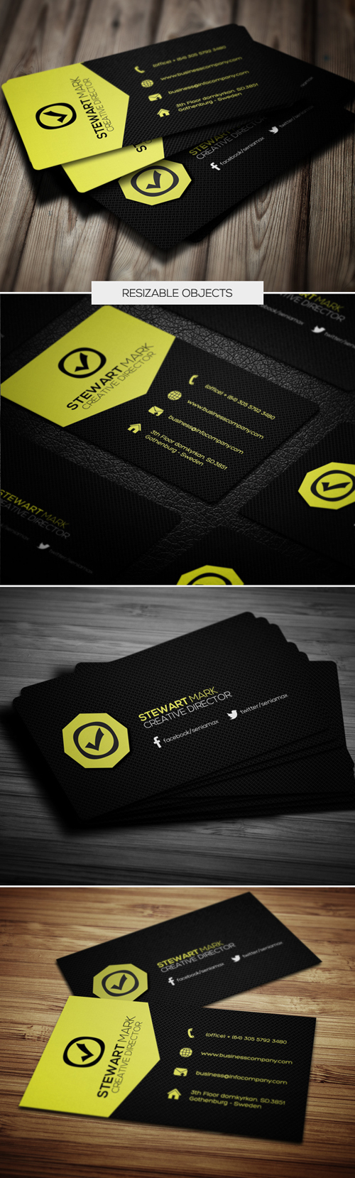 business cards template design - 7