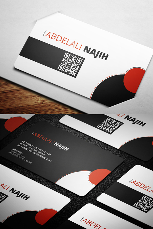 business cards template design - 8