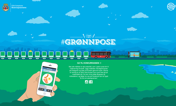 Gronnpose Flat Website Design