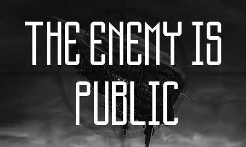 The Enemy Is Public free fonts of year 2013