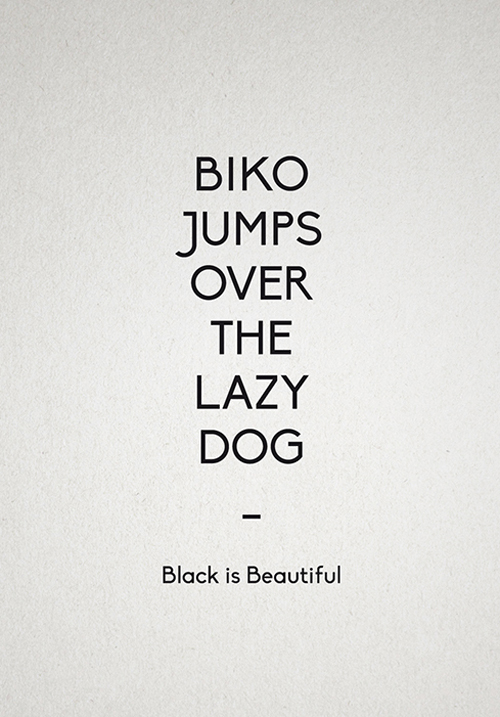 Biko free fonts of year 2013