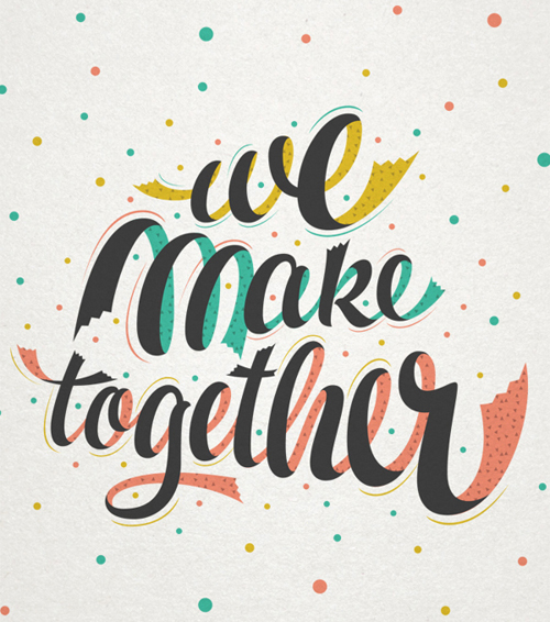 We make together