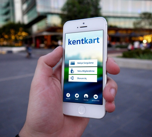 KentKart Mobile App UI UX Design for Inspiration
