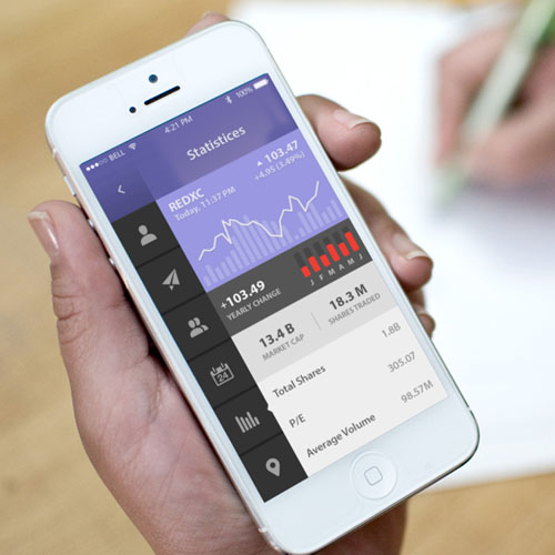Mauve Management Mobile App UI UX Design for Inspiration
