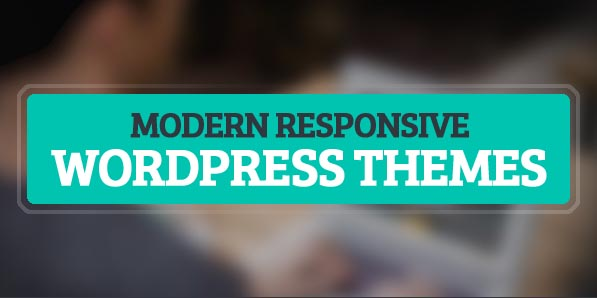 12 Modern Design Responsive WordPress Themes