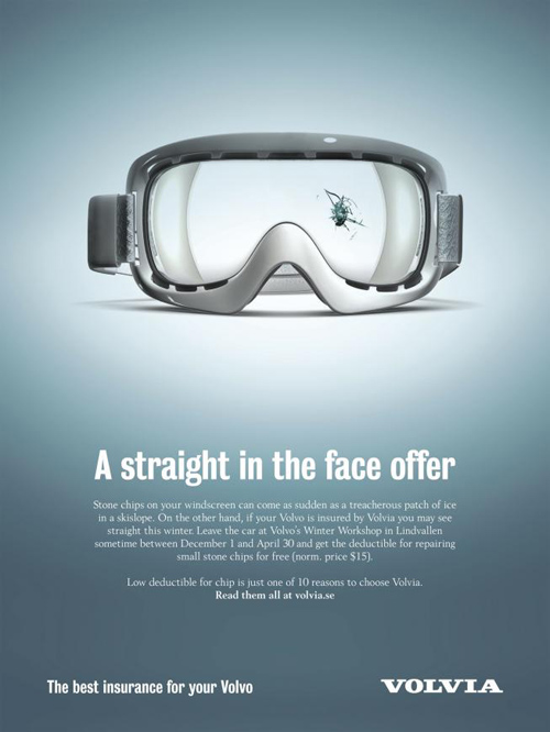Volvia Car Insurance: Goggles