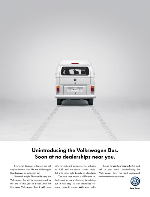 Volkswagen Bus: No more