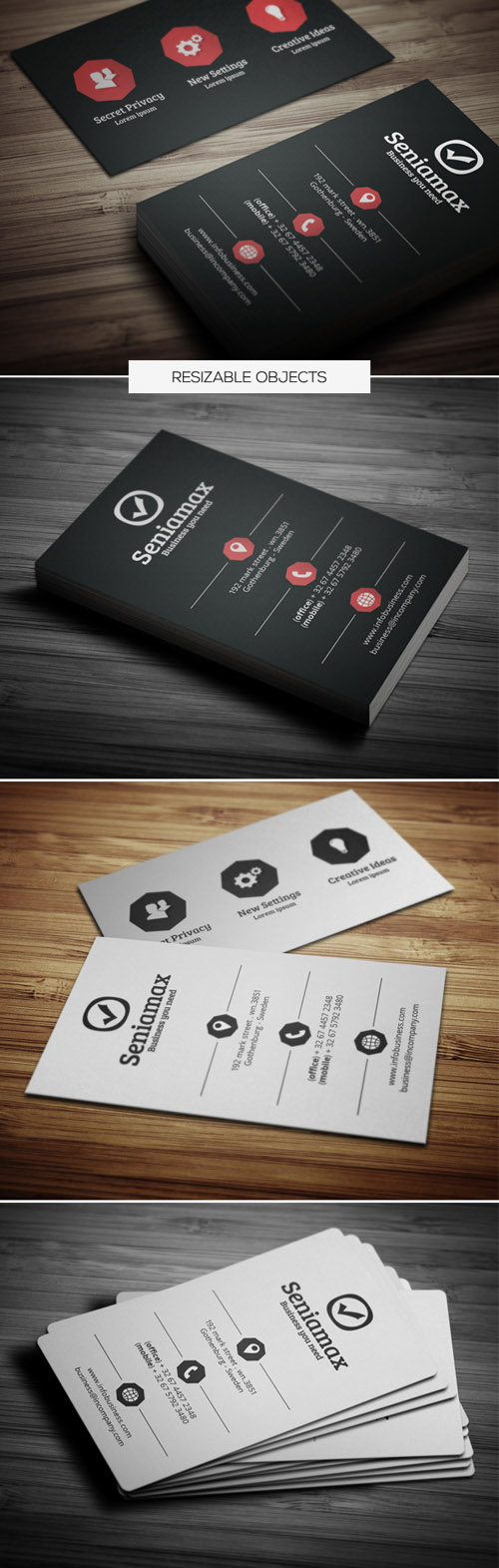 Business Card Templates (PSD) - 23