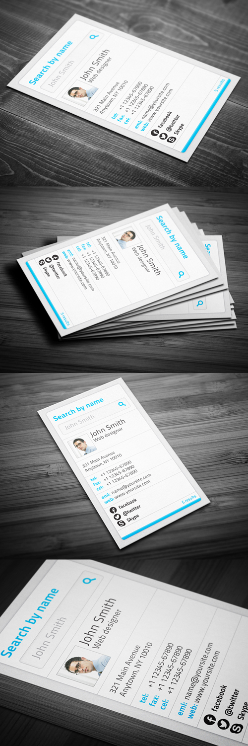 Creative Personal Business Cards Design-24