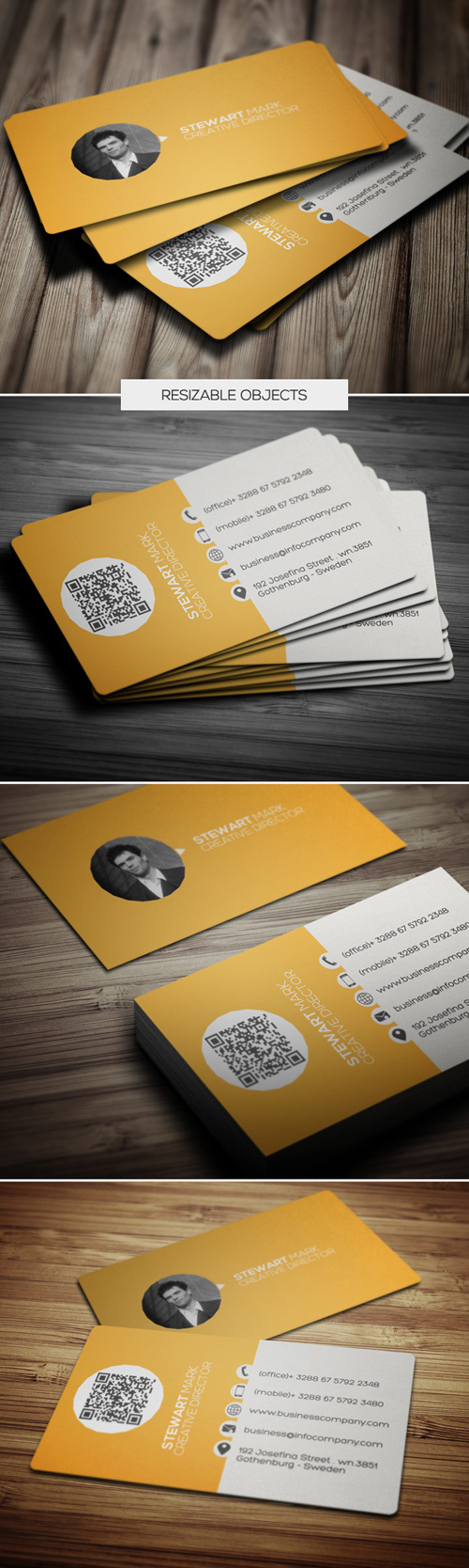 Creative Business Cards Design-8