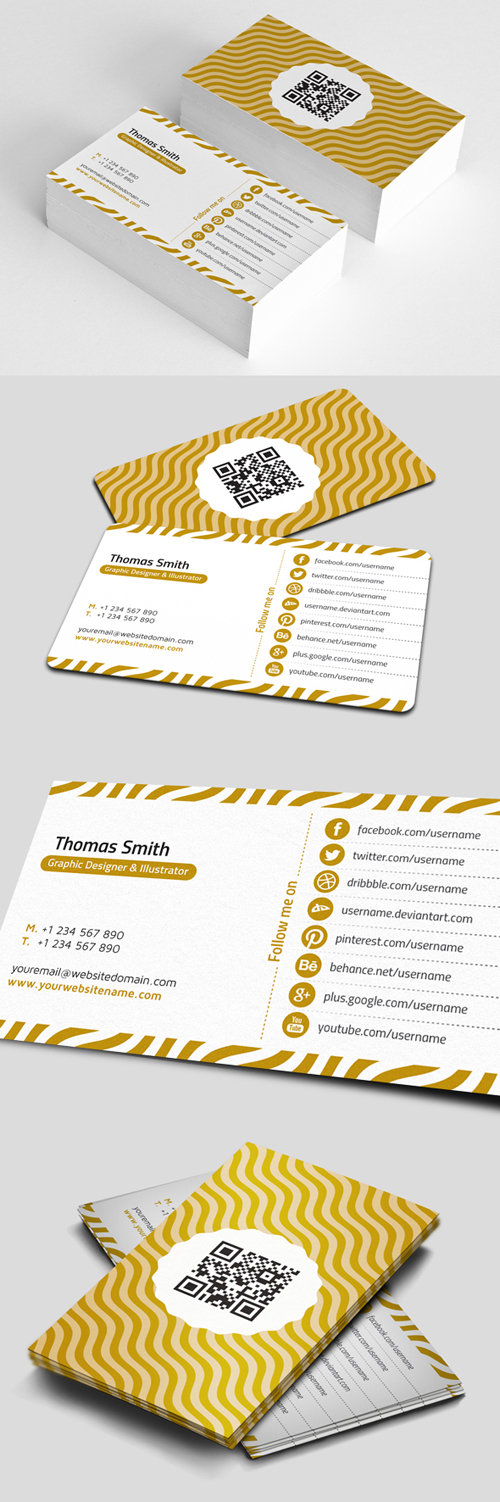 Personal Business Cards Design-9