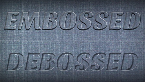 Create a Realistic Emboss/Deboss Effect in Photoshop Tutorial