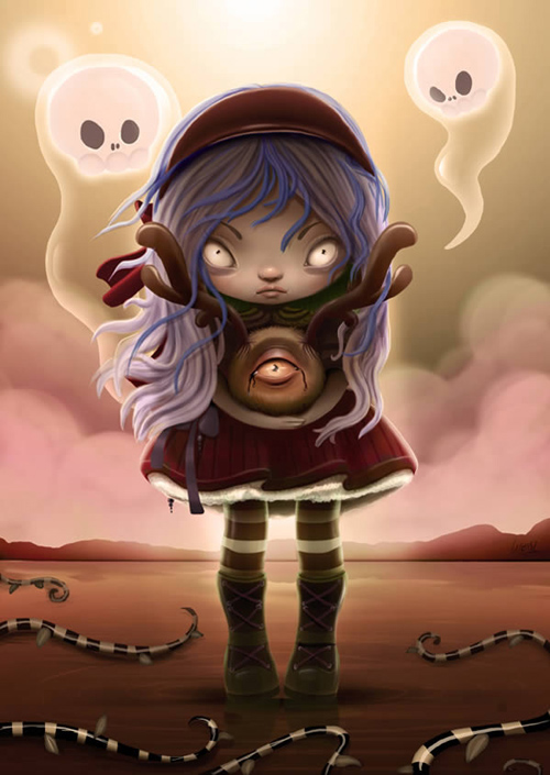 Create a Halloween-Inspired Children's Illustration in Photoshop