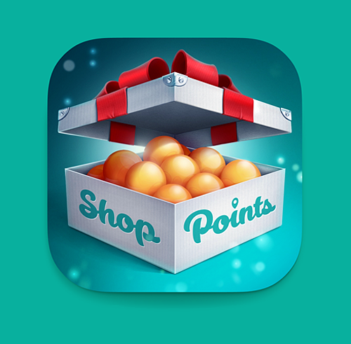Shop Point iOS Icon