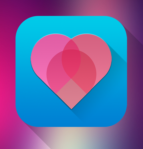 Pinkheart IOS icon