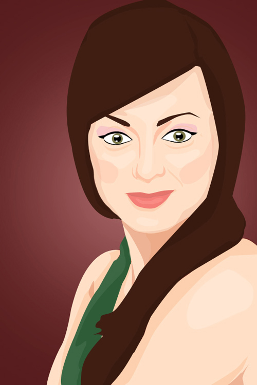 Create a Vector Inspired Portrait in Photoshop